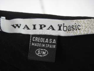 You are bidding on a WAIPAI BASIC Black Stretch Tank Top in Size Small