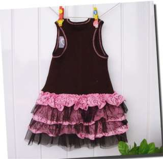 NEW XOXO Baby Girls Ruffle Tulle Layer Dress Top 12M 6