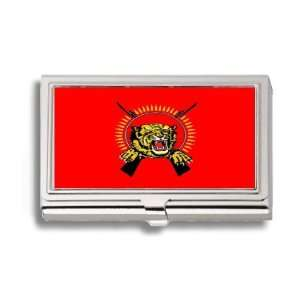 Tamil Eelam Liberation Tigers Flag Business Card Holder