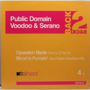 Blade / Blood Is Pumpin Voodoo & Serrano, Public Domain Music
