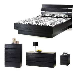 Laguna 4 Piece Full Bed, Night Stand, Dresser and Chest