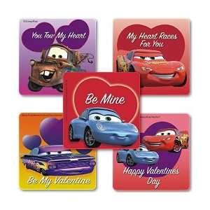 Disney Pixar Cars Valentines Day Stickers (25) Office
