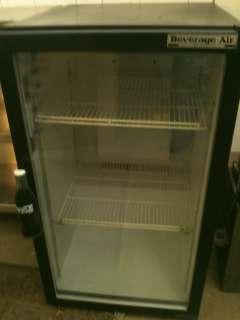 Beverage Air CounterTop Glass Door Refrigerator Cooler Merchandiser
