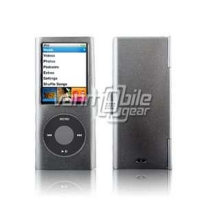 VMG Silver Aluminum Metal Protective Case Cover for Apple iPod Nano 4