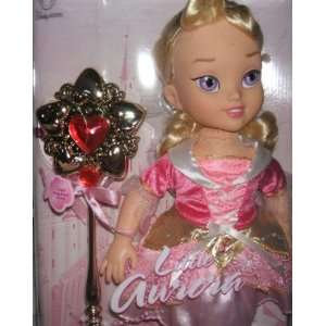 Disney Princess Little Aurora Doll with Magic Wand Toys