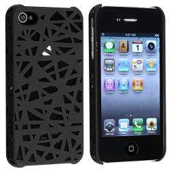 Black Bird Nest Rear Snap on Case for Apple iPhone 4/ 4S