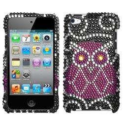 Owl Apple iPod Touch 4 Rhinestone Case