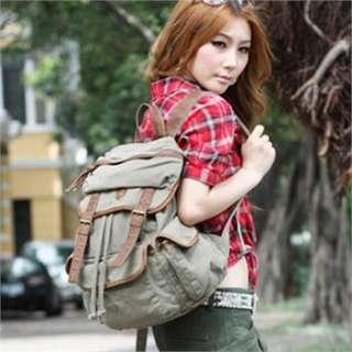 Fashion Girls Canvas Backpacks High Quality Satchel Rucksack Free