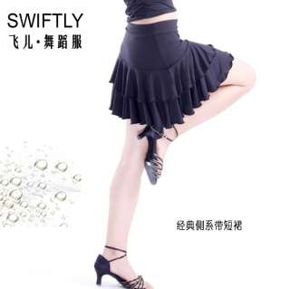 Latin salsa Ballroom Dance Dress Mini Skirt #M052