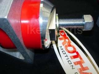 Billet Aluminum & Polyurethane Motor Mount Kit   Pair