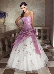 Bridal Bridesmaid Wedding Gown Prom Ball Evening/Dress
