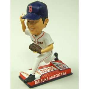 Daisuke Matsuzaka Bobblehead   2008 On Field: Sports & Outdoors