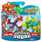 MARVEL SUPER HERO SQUAD SPIDER MAN ELECTRO