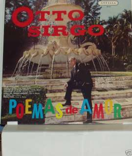 OTTO SIRGO/POEMAS DE AMOR LP