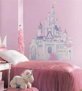 DISNEY PRINCESS CASTLE Wall Decal Girl Bedroom Decor 034878215402