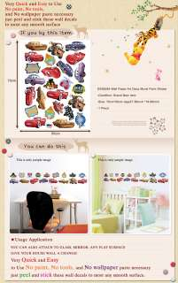 DS 58384 CARS ADHESIVE KIDS ART WALL DECO MURAL STICKER