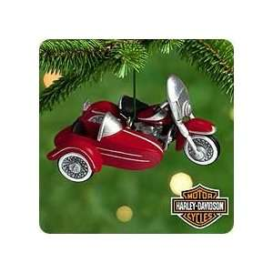 HARLEY DAVIDSON #2   DUO GLIDE 2000 Hallmark Ornament