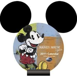 Mickey Mouse 2011 Easel Desk Calendar Office Products