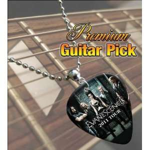 Evanescence 2011 Tour Premium Guitar Pick Necklace