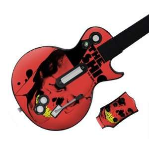 Hero Les Paul  Xbox 360 & PS3  The Fashion  Skull Skin Video Games
