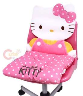 Sanrio Hello Kitty Chair Cushion with Back Pad License