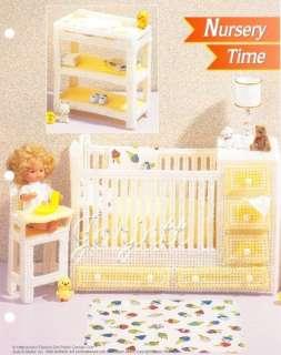 Nursery Time, Annies pc patterns fit Barbie dolls