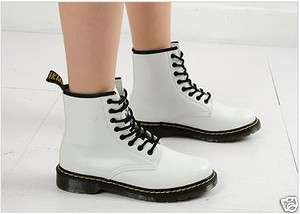 Womens Military Combat Boots White US 6~8