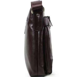 Mens BOLO Genuine Leather Shoulder Messenger Bag Satchel Fashion