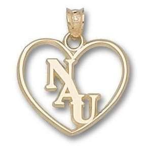 Northern Arizona Univ Nau Heart Charm/Pendant Sports