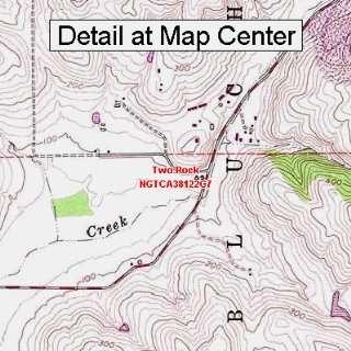 USGS Topographic Quadrangle Map   Two Rock, California