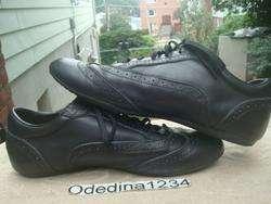 Louis Vuitton Lace Up Mens Leather Sneakers Size Sz 12 (LV 45)