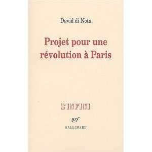 Projet pour une révolution à Paris (French Edition