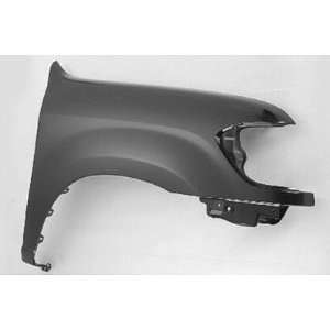 RH FENDER W/O FLARE HOLES DOUBLE CAB CAPA: Automotive