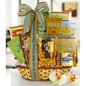Wishes of Healing Gourmet Gift Basket: Grocery & Gourmet Food