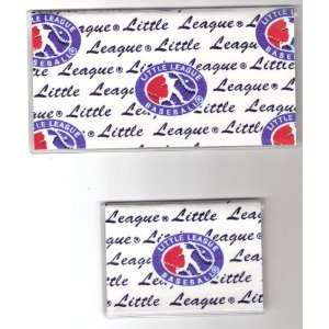 Checkbook Cover Debit Set Baseball Little League