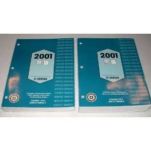 2001 Chevrolet, GMC C Series Truck Service Manuals (C600