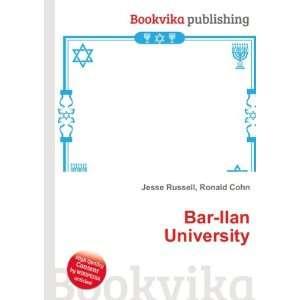 Bar Ilan University Ronald Cohn Jesse Russell Books