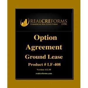 Option Agreement For Ground Lease