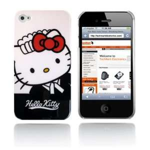 Hello Kitty snap on hard case for iPhone 4G (Black and