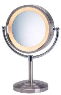 Jerdon Eclipse 5X 1X Halo Lighted Vanity MakeUp Mirror 027043074058