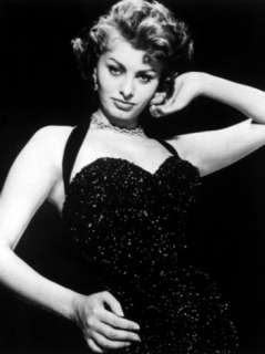 Publicity Shot of Sophia Loren Taken to Promote the Pride and the