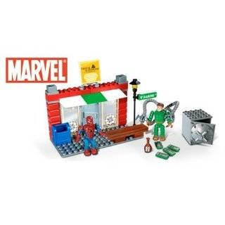 Mega Bloks   The Amazing Spider Man Marvel Street Series