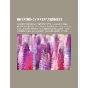 Emergency preparedness: current Emergency Alert System has