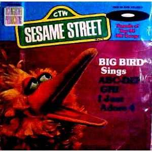 Big Bird Sings ABC DEF GHI (and) I Just Adore 4 Big Bird