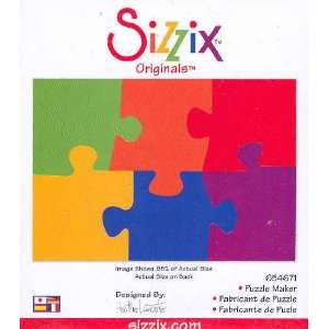 Sizzix Originals PUZZLE MAKER 654671 RED Home & Kitchen