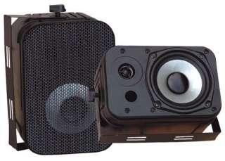 PYLE PDWR40B PRO BLACK OUTDOOR AUDIO 800w SPEAKERS 068888882231