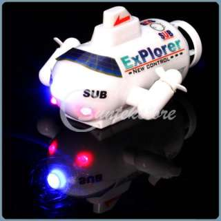 Remote Control RC Flashing Submarine ExPlorer Funny Toy Gifts