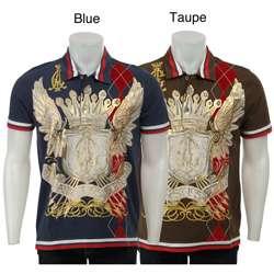 Ed Hardy Mens Argyle Polo Shirt