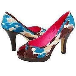 Madden Girl Lourdez Brown Multi Pumps/Heels