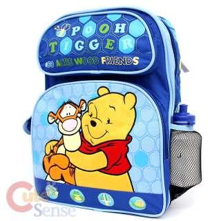 Winnie Pooh & Tigger Large School Backpack/Bag DISNEY